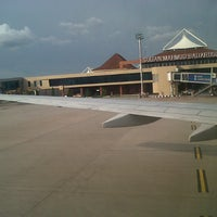 Photo taken at Sultan Mahmud Badaruddin II International Airport (PLM) by Luthfi F. on 12/15/2012