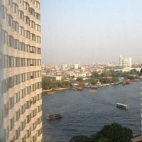 Photo taken at Shangri-La Hotel, Bangkok by Stanley H. on 2/20/2013