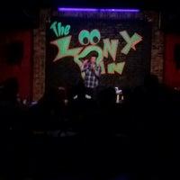 Photo taken at Loony Bin Comedy Club by Blayr N. on 6/1/2013