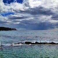Photo taken at Bronte Beach Pool by Lara I. on 2/5/2013