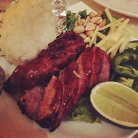 Photo taken at Amarin Thai Restaurant by Pinkz C. on 4/7/2013