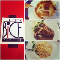 Photo taken at Bice Bistro by Kyrsten on 11/26/2012