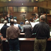 Photo taken at St. George Tabernacle by Mark H. on 2/7/2014