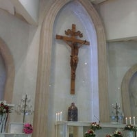 Photo taken at Gereja Santo Thomas Rasul by Cristover T. on 9/23/2012
