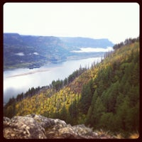 Photo taken at Angels Rest by Lauren on 10/14/2012