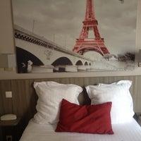 Photo taken at Hotel Avia Saphir Montparnasse Paris by Sheva1010 on 6/3/2014