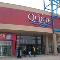 Photo taken at Quinte Mall by Joanne J. on 2/27/2016