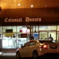 Photo taken at Colonial Donuts by O-Town on 3/19/2013
