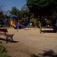 Photo taken at Plaza Eusebio Lillo by Daniela V. on 10/31/2012