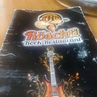 Photo taken at Röschti Rock Restaurant by Thiago S. on 12/8/2012