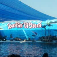 Photo taken at Oasis Sea World by Thip L. on 1/19/2013