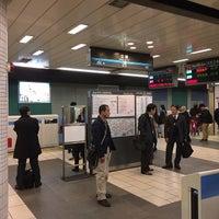Photo taken at Mita Line Meguro Station (I01) by Leon Tsunehiro Yu-Tsu T. on 3/18/2014