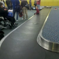 Photo taken at Orlando International Baggage Claim by Barbara S. on 10/20/2012