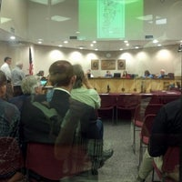 Photo taken at College Station City Hall by Sam W. on 10/26/2012