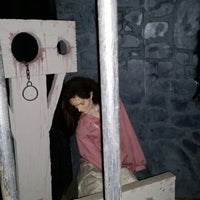Photo taken at Witch Dungeon Museum by Rita M. on 10/4/2014