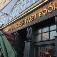 Photo taken at White Trash Fast Food by Tim M. on 9/22/2012
