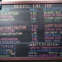 Photo taken at Russian River Brewing Company by bacon a. on 5/27/2013