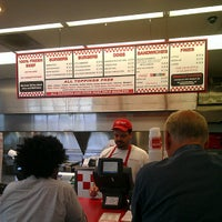 Photo taken at Five Guys by Stephanie W. on 8/26/2013