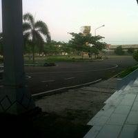 Photo taken at Stadion Kota Batik by agusto x. on 3/20/2013
