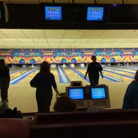 Photo taken at Riviera Lanes by Julie F. on 4/19/2016
