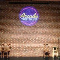 Photo taken at Arcade Comedy Theater by John M. on 7/15/2013