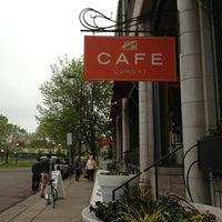 Photo taken at Café & Bar Lurcat by Jean W. on 5/22/2013