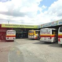 Photo taken at Mabalacat Bus Terminal by Dennis on 7/21/2013