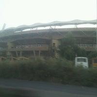 Photo taken at Dr. DY Patil Stadium (डा. डी. वाय. पाटील स्टेडीयम) by Dipali S. on 11/19/2012