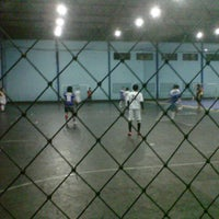 Photo taken at YPKP Indoor Soccer Center by Isan D. on 4/7/2013