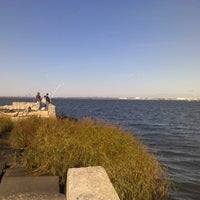 Photo taken at Bayswater Point State Park by Jeff R. on 10/1/2012