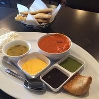 Photo taken at Saffron Indian Cuisine by KimAllison W. on 12/1/2016