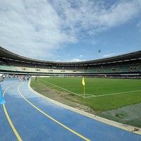 Photo taken at Stadio Marc'Antonio Bentegodi by SS Lazio on 9/16/2012