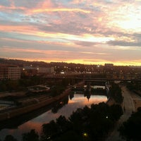 Photo taken at Madrid Río (Sector Central) by Raquel C. on 10/24/2012