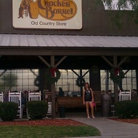 Photo taken at Cracker Barrel Old Country Store by Mellie O. on 11/17/2012