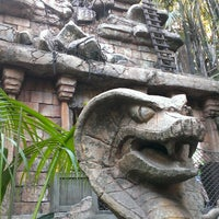 Photo taken at Indiana Jones Adventure by Michael P. on 5/29/2013