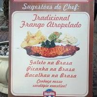 Photo taken at Restaurante Bom na Brasa by Thiago P. on 7/10/2013