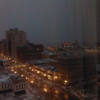 Photo taken at Radisson Hotel Duluth-Harborview by Carrie W. on 11/24/2012