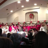 Photo taken at Crab Orchard Baptist Church by Emily C. on 12/24/2012