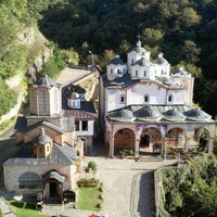Photo taken at Манастир Свети Јоаким Осоговски / Joachim of Osogovo Monastery by Nikola V. on 10/1/2016