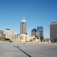 Photo taken at Bankers Life Fieldhouse Parking Garage by Aaron on 12/12/2012