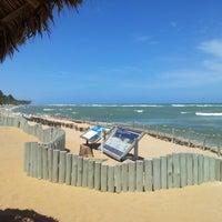 Photo taken at Praia do Forte by emerson o. on 11/11/2012