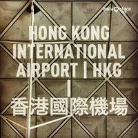 Photo taken at Hong Kong International Airport (HKG) by Chawalit K. on 7/23/2013