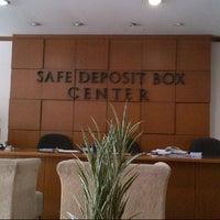 Photo taken at Bank Mandiri Pondok Indah Plaza by  B. on 4/2/2013