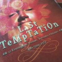Photo taken at Last Temptation by Brandon L. on 3/30/2015