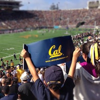 Photo taken at California Memorial Stadium by Jay R. on 10/20/2012