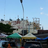 Photo taken at Kapal PLTD Apung by Timothy T. on 3/6/2013