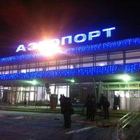 Photo taken at Bolshoye Savino International Airport (PEE) by Евгений Б. on 1/30/2013