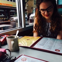 Photo taken at New Canaan Diner by Lexi on 6/8/2014