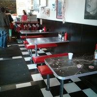 Photo taken at Redrum Burger by Ikai L. on 12/24/2012