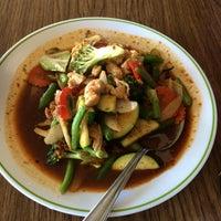 Photo taken at Chanon Thai Cafe by Barbara on 3/23/2014